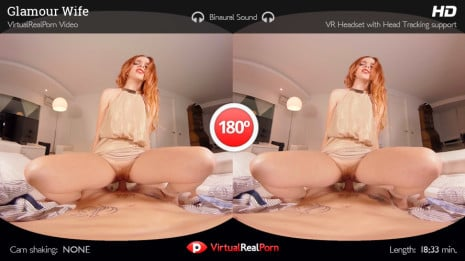 Glamour Wife VR Porn video.