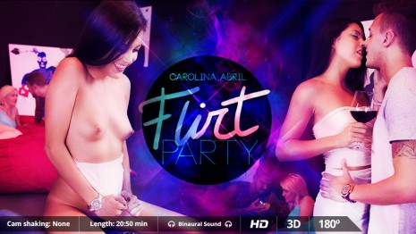Flirt Party VR Porn video.