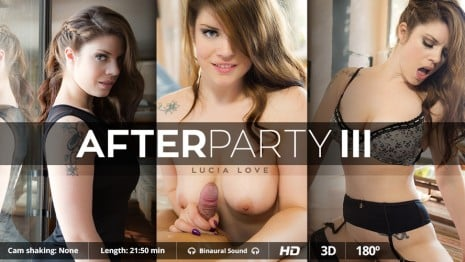 After Party III VR Porn video.