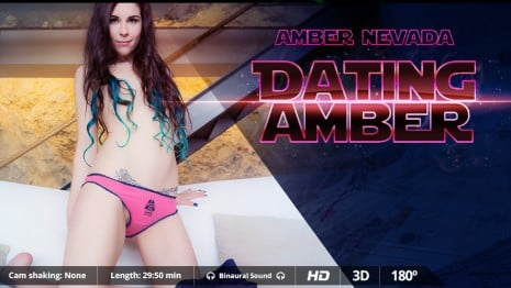 Dating Amber VR Porn video.