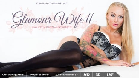 Glamour Wife II VR Porn video.