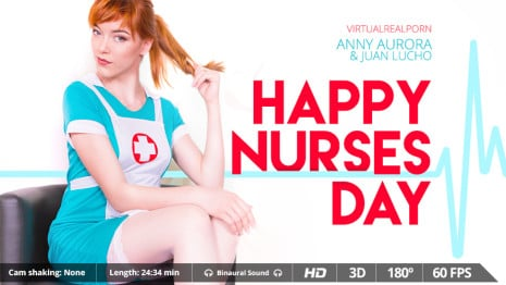 Happy Nurses Day VR Porn video.