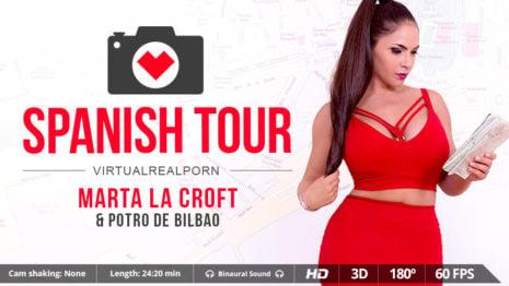 Spanish tour VR Porn video.