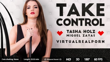 Take control VR Porn video.