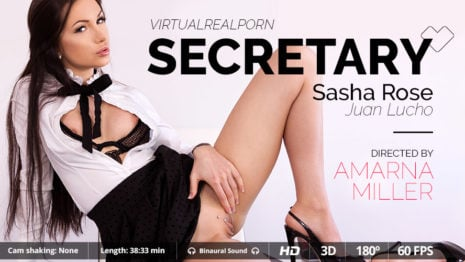 Secretary VR Porn video.