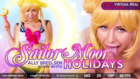 Sailor moon holidays VR Porn video.