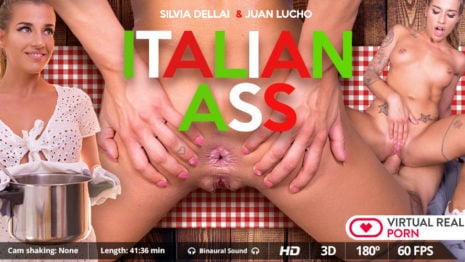 Italian ass VR Porn video.