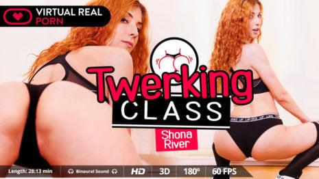 Twerking class VR Porn video.
