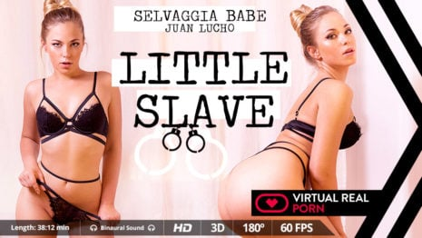 Little slave VR Porn video.