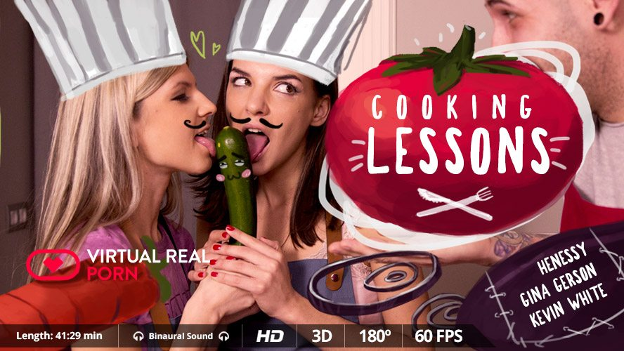 Porn Sex Photo Cooking Lessons