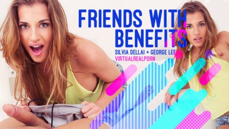 Friends with benefits VR Porn video.