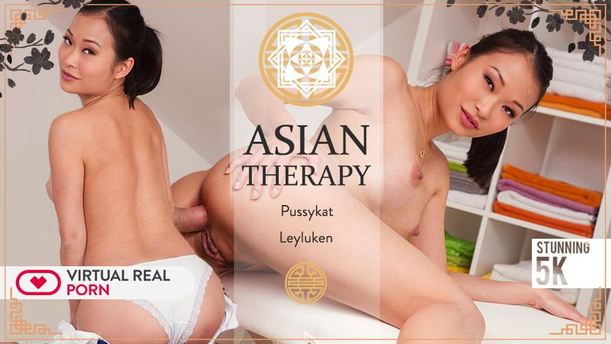 Sensual asian Pussykat massage therapy