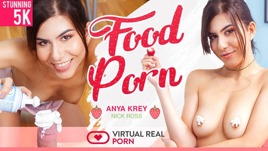 Anya Kray gets naughty on VR Porn