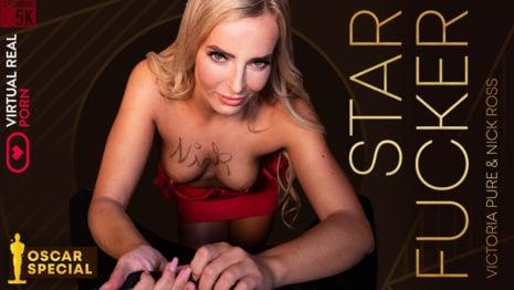 Star fucker VR Porn video.